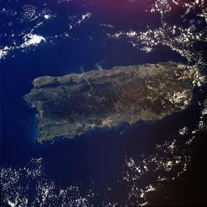 Puerto Rico seen from space