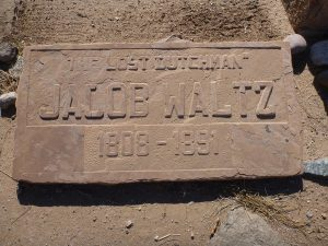 grave of jacob waltz, the lost dutchman