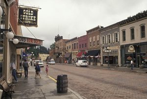 photo shows mainstream in deadwood south dakota