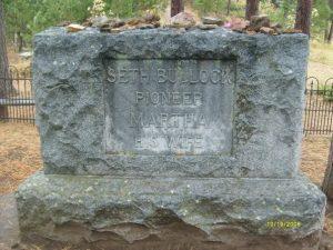 seth bullock's tombstone